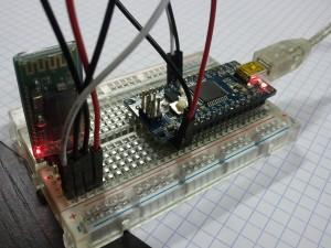 Arduino Leonardo et JY-MCU