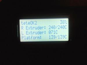 Températures MakerBot pour ABS