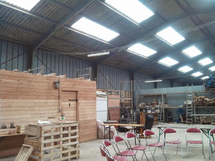 Labo du Nautilus - atelier ouvert, salon et bureau fermé