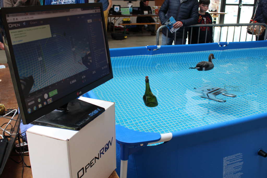 St Malo : Demonstration OpenROV