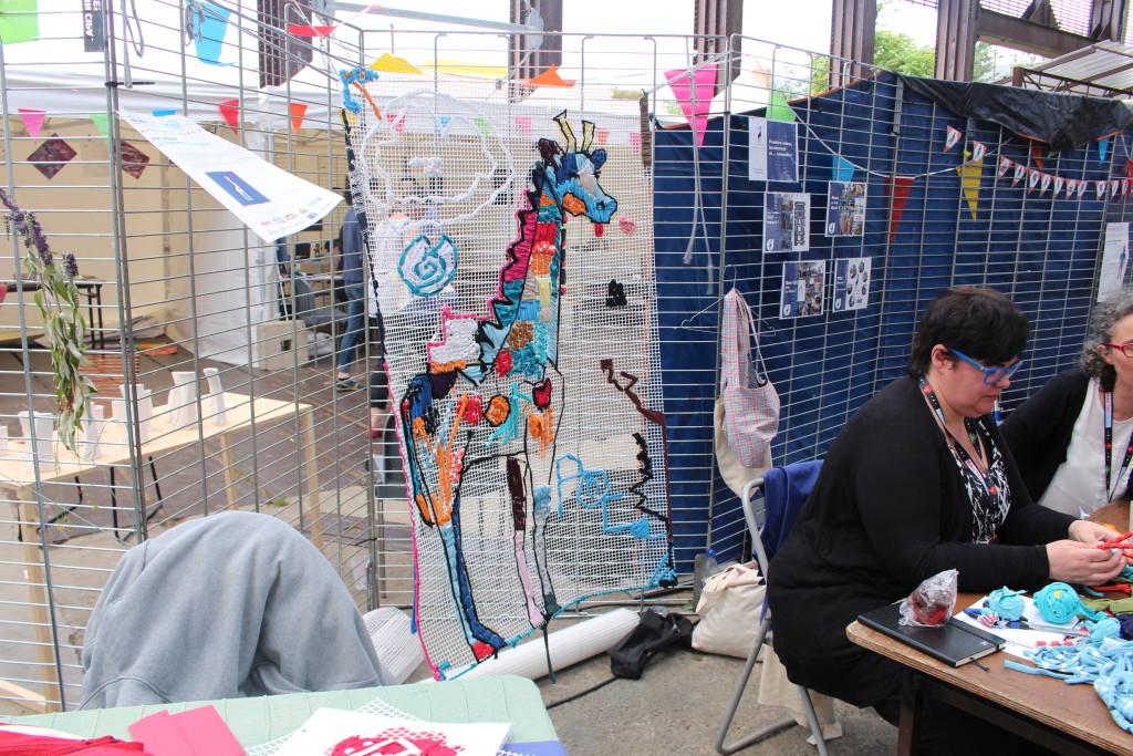 POC la girafe, un fablab textile à Brest !