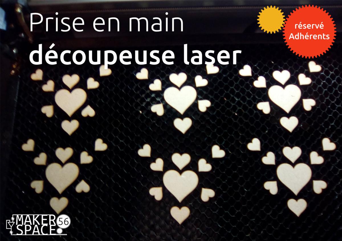 Découverte Découpeuse Laser