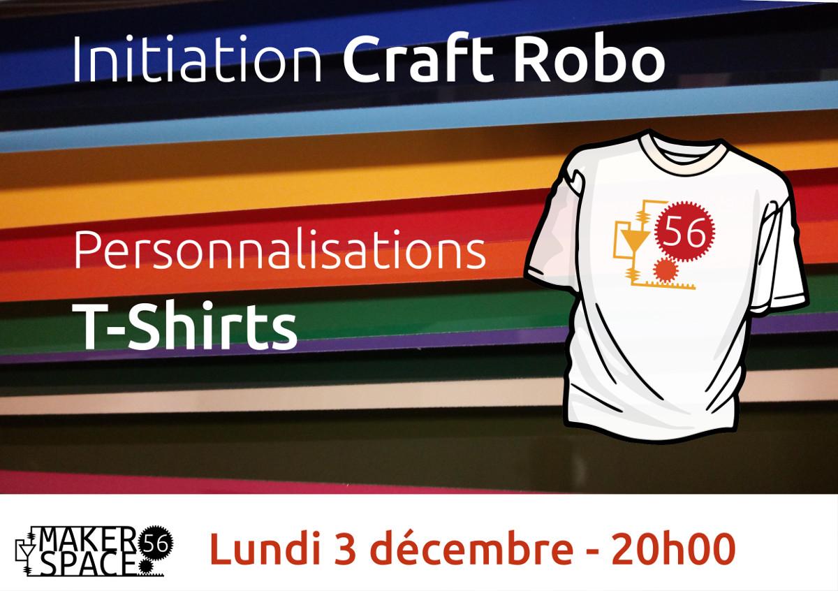 Initiation découpeuse vinyle - flocage de T-shirts
