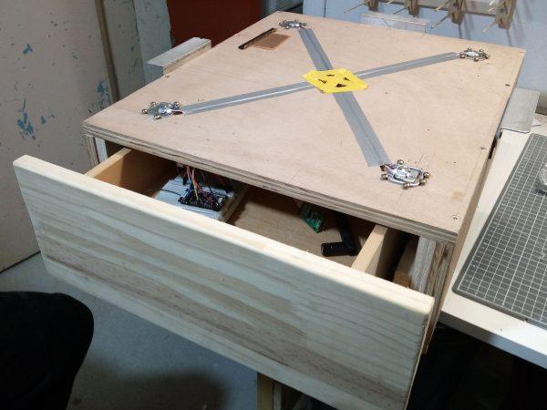 un tiroir pour ranger l electronique