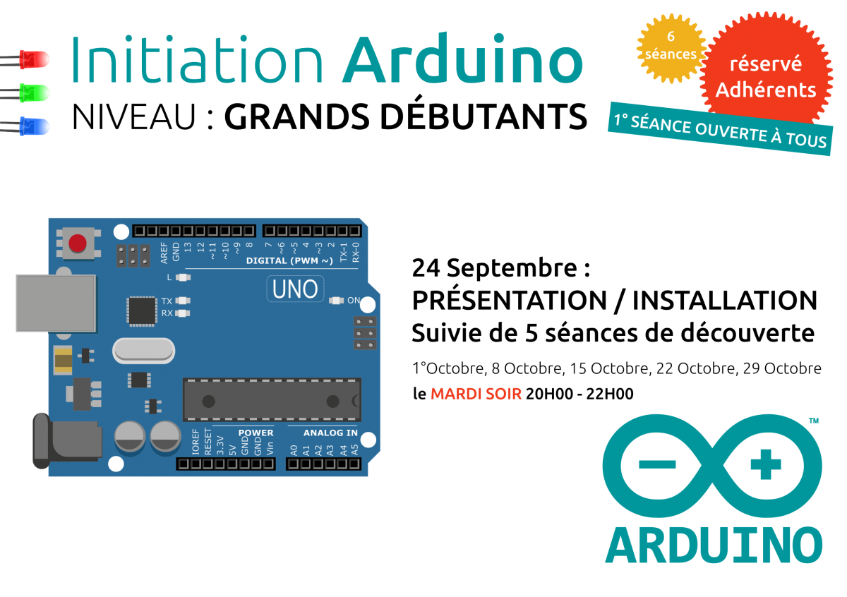 Initiations Arduino Débutants